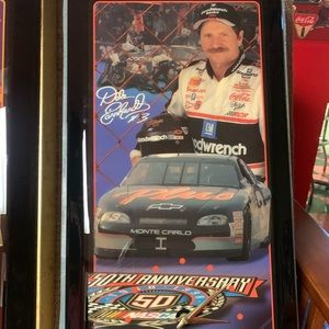 Snap On clock Dale Earnhardt 50th edition